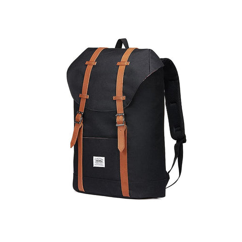 Travel Casual Backpack, Laptop Daypack, EP6-1( Black / 18L )