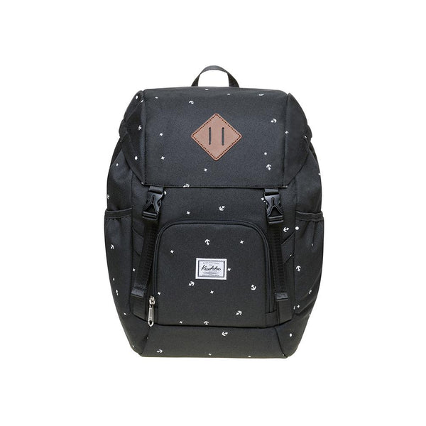 KAUKKO Backpack for daily use,  KY01-2 ( Black/ 15.2 L )