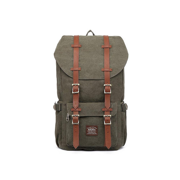 KAUKKO Backpack for city trips, E5-1 ( Green  / 22L )