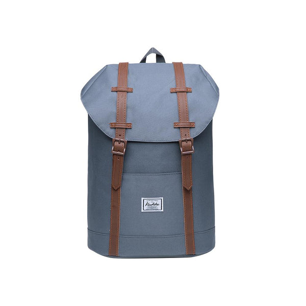 KAUKKO Travel Casual Backpack Laptop Daypack, EP6-7 ( Grey / 14L )