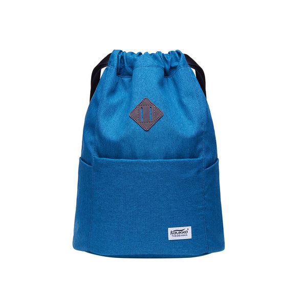 Gym Yoga backpack Shoulder Rucksack for Men and Women ( Blue )