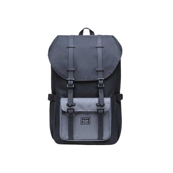 KAUKKO Backpack for city trips, EP5-5 ( Black Grey / 20.3L)