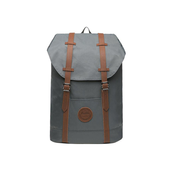 KAUKKO Backpack for city trips, EP6-9 ( Grey / 18.1L )