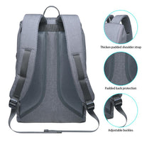 KAUKKO Backpack for daily use, KF10 ( Light Grey / 16.6L )