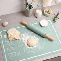 Non-slip Silicone Pastry Mat Extra Large with Measurements 23''By 15'' for Silicone Baking Mat, Counter Mat, Dough Rolling Mat,Oven Liner