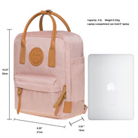KAUKKO Backpack for daily use, K1007-4 ( Pink / 5.5L )