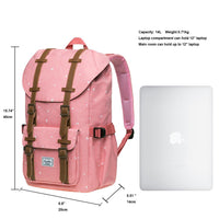 KAUKKO Backpack for city trips, EP5-13 ( Pink / 14L )