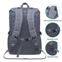 KAUKKO Backpack for city trips, EP5-9 ( Grey / 16.1L)