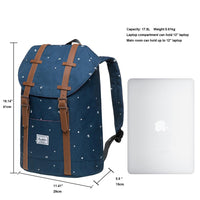 KAUKKO Backpack for city trips, EP6-5 ( Blue / 17.8L )