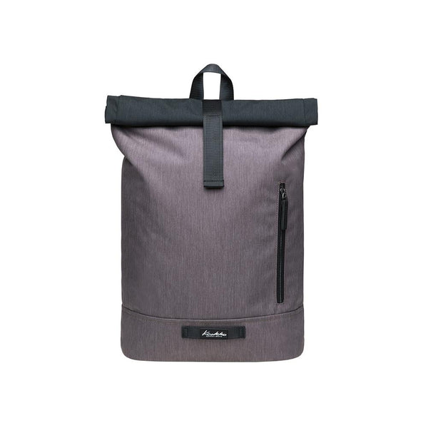 KAUKKO Backpack for daily use, KF06-2 ( Black Grey/ 15.7L )