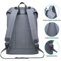 Lightweight Outdoor Backpack, KAUKKO Travel Casual Backpack ( Light Grey )