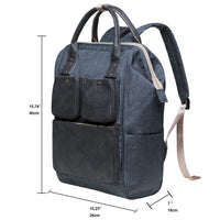 KAUKKO Lightweight Backpack, KT03 ( New York Gray )