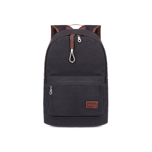 KAUKKO Backpack for School, K1032 ( Black / 21L )