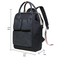 KAUKKO Lightweight Backpack, KT03 ( Santorini Black )