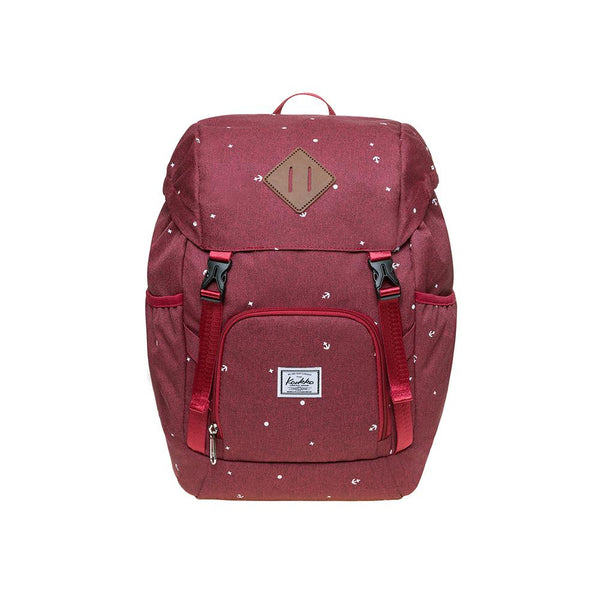 KAUKKO Backpack for daily use,  KY01 ( Red / 15.2 L )