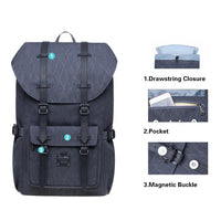 KAUKKO Backpack for city trips, EP5-18 ( Grey /21.1L )