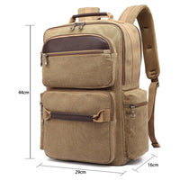 KAUKKO Backpack for Hiking Tours, K1024 ( Apricot )