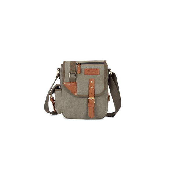 KAUKKO Casual Men Crossbody Bags ( Army Green )