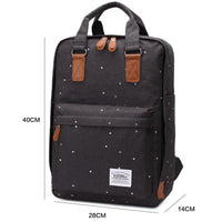 KAUKKO Backpack for daily use, K1007 ( Black )