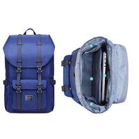 KAUKKO Backpack for city trips, EP5-3 ( Blue / 22.4L )