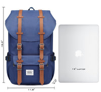 KAUKKO Backpack for city trips, EP5 ( Blue / 22.4L )