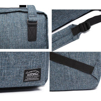 Stylish Oxford Fabric Backpack ( Blue )