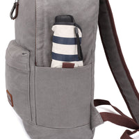 KAUKKO Backpack for School, K1032 ( Grey / 21L )