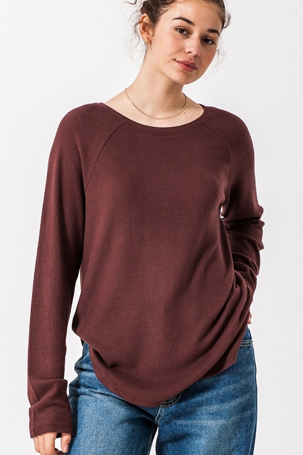 Long Sleeve Round Neck