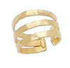 Triple Bands Metal Ring