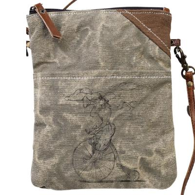 Clea Ray - Bike Lady Passport Bag