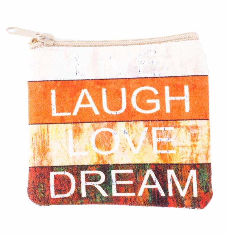 Laugh Love Dream Coin Purse