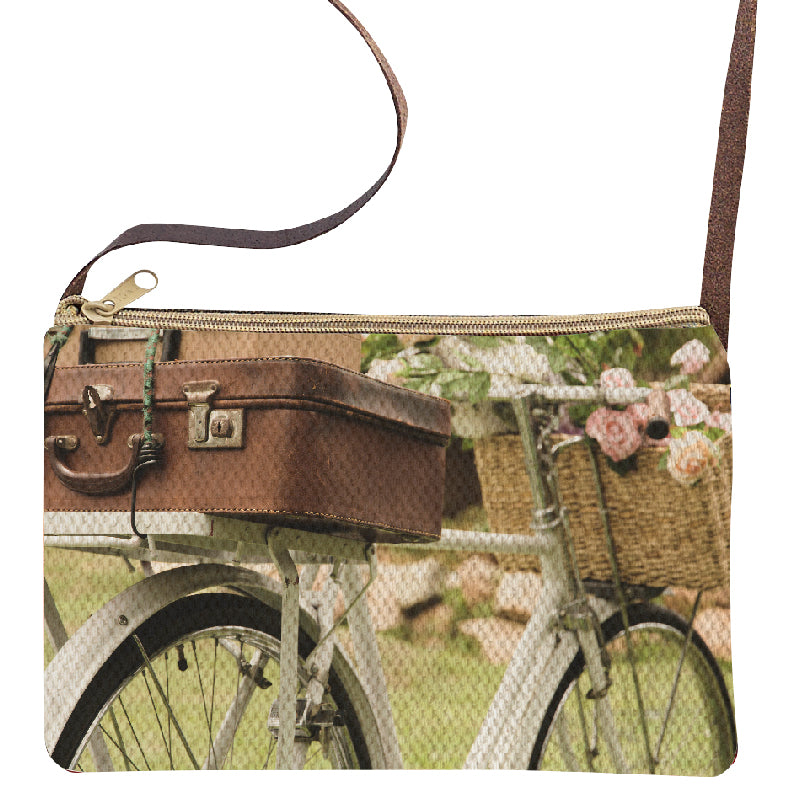 Bicycle Suitcase Sling Purse
