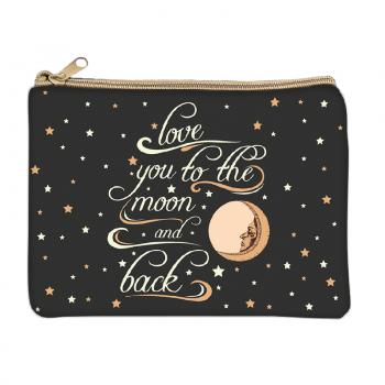 Love You to the Moon Coin Purse