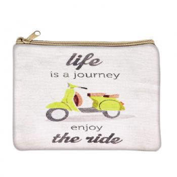 Life is a Journey Coin Purse