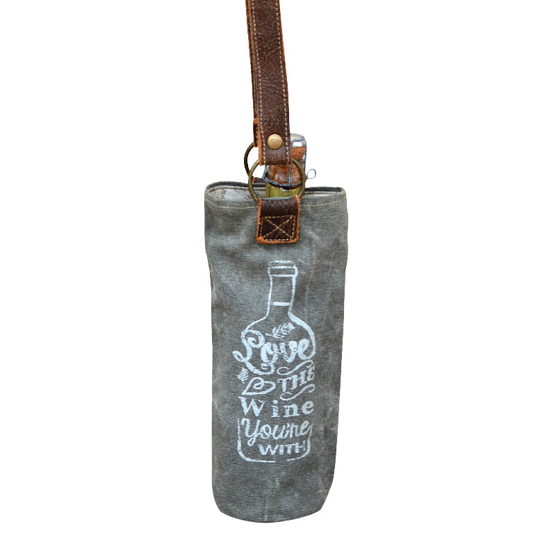 "Clea Ray - ""Love The Wine You're With"" Wine Bag"