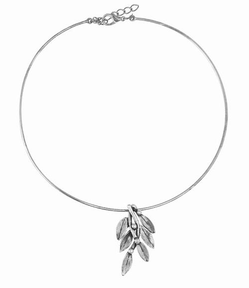 Leaves Pendant Necklace