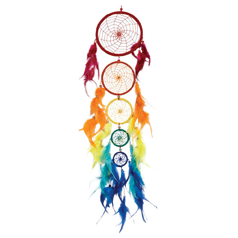 Rainbow 5-Tier Dreamcatcher