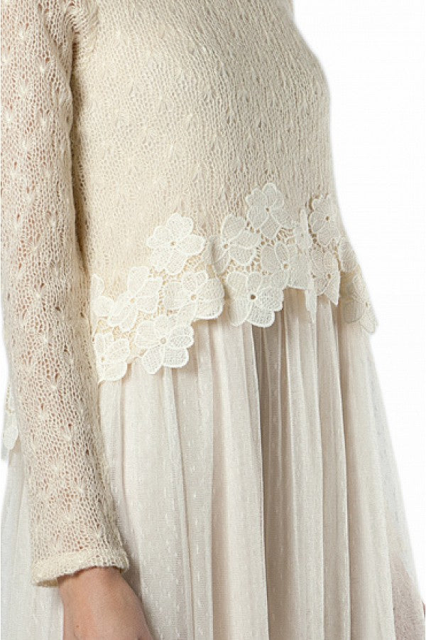 Layered Flower Dress