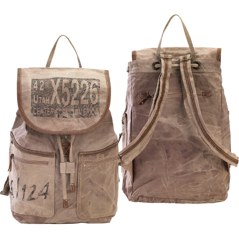 Clea Ray - Brown Utah Backpack