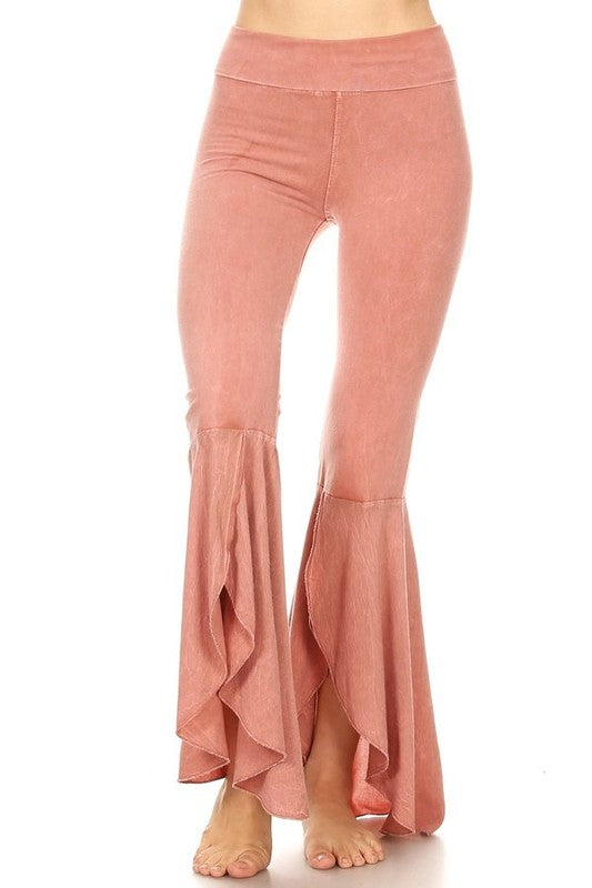 TParty Mineral Tulip Flare Yoga Pants