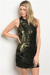 Dress with Sequins - On SALE!