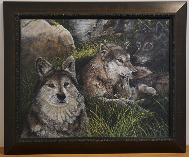 """Devotion of the Pack"" by Nancy Cavins"