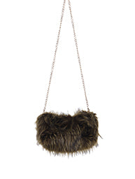 Faux Fur Handwarmer/Clutch