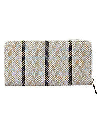 Tribal Pattern Woven Wallet