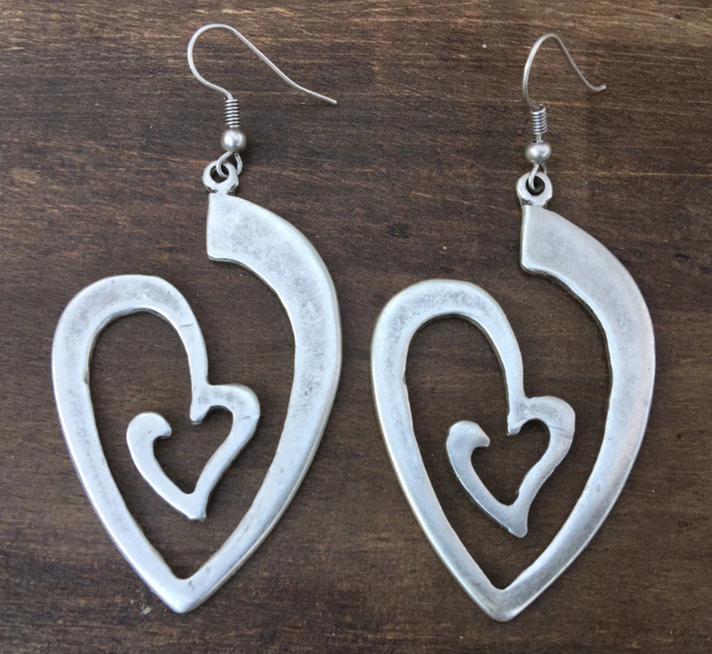 Heart Within Earrings