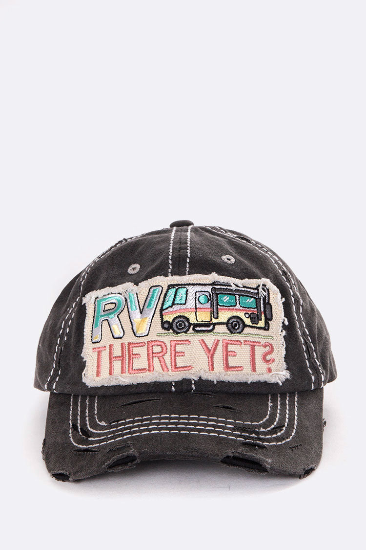 There Yet? RV Hat