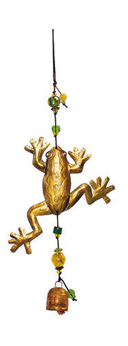 The Frog Prince Chime with Beads and Bell