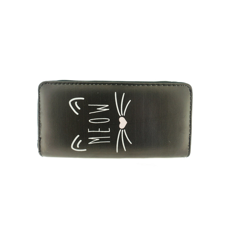 MEOW Cat Print Wallet