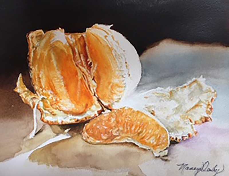 """Orange Revealed"" by Nancy Derby"