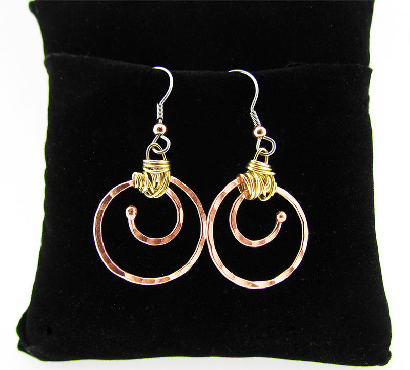 Colorado Copper - Peaceful Earrings